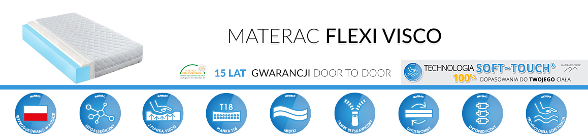 Materac Flexi Visco