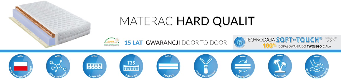 Materac Hard Qualit