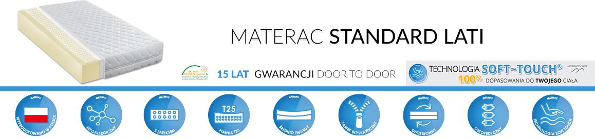 Materac Standard Lati Piankowy