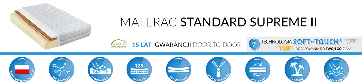 Materac standard supreme II
