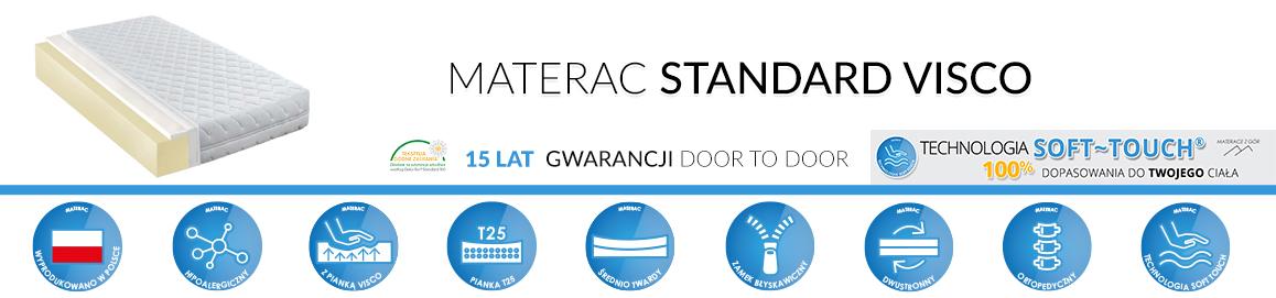 Materac Standard Visco