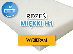Wkład materacowy h1 miękki
